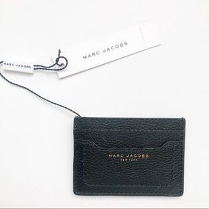 Marc Jacobs Black Empire City Leather Card Holder